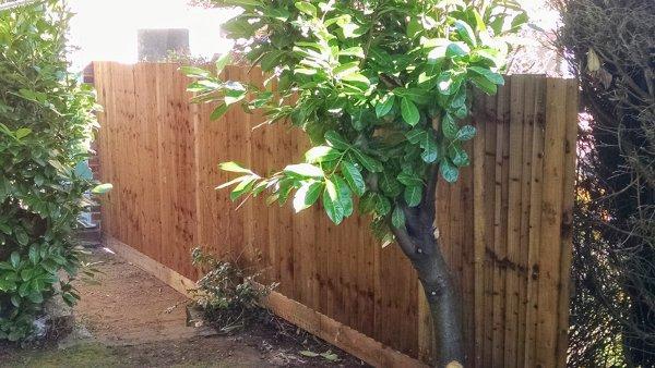 Erect fencing in Hertford